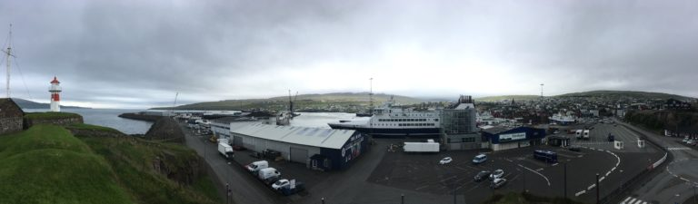 Tórshavn Panorama by MHZ